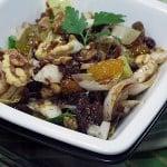 Salata de andive cu nuci si curmale uscate