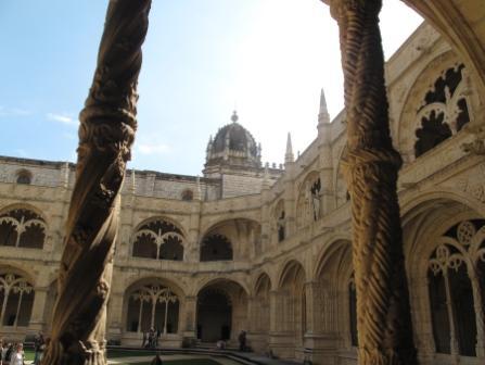 Curtea interioara, Mosteiro dos Jeronimos