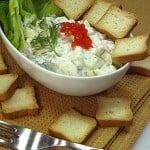 Salata de mere cu somon afumat