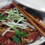 Carnati chinezesti cu pui si orez
