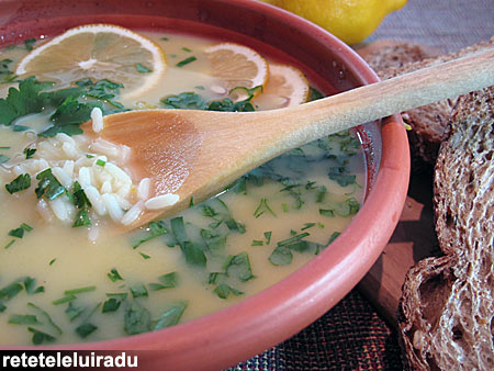 Avgolemono - o supa a la grec