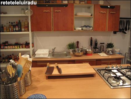 Noul meu mini-studio culinar