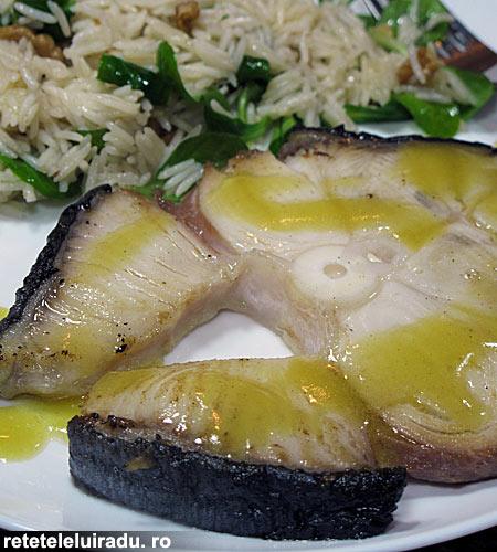 rechin cu salata de orez1 - Rechin cu salata de orez 1 - Retetele lui Radu