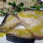 Rechin cu salata de orez