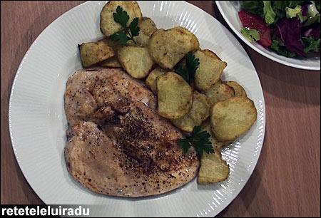 Vita Cook - piept de pui cu cartofi