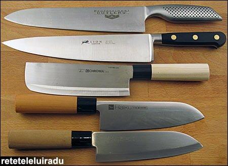 Despre cuţitele de bucătărie