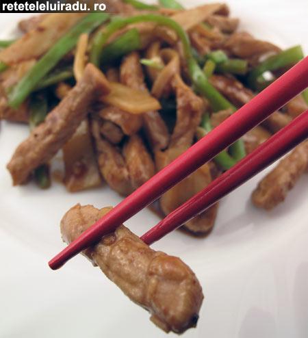 porc Sichuan - Porc Sichuan 1 - Retetele lui Radu