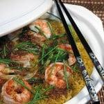 Orez cu curry si creveti