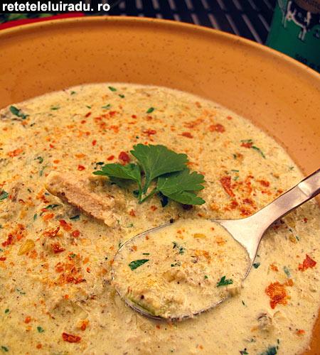 supa picanta de pui cu ciuperci1 - Supa picanta de pui cu ciuperci 1 - Retetele lui Radu