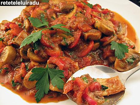 Curry de ciuperci