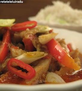 curry rosu de pui1 - Curry rosu de pui 40 - Retetele lui Radu