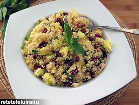 Salata de cuscus cu fructe