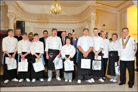 """Cel mai bun bucătar """"Continental Hotels 2011"""""""