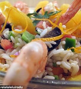 salata de orez cu creveti1 - Salata de orez cu creveti 6 - Retetele lui Radu