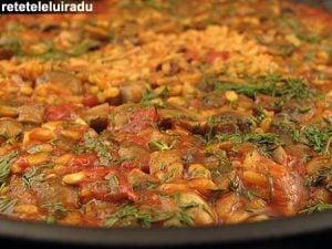 paella cu ciuperci11 - Paella cu ciuperci 23 - Retetele lui Radu