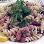 Salata de paste cu ton si fasole