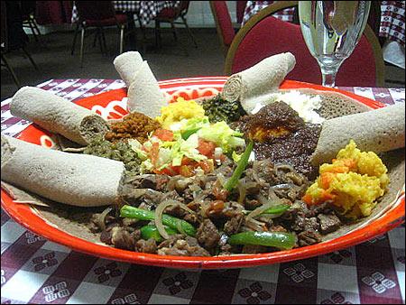 EtiopiaRestaurant3 - Bucătăria bogată a unei ţări sărace - Etiopia (5) 3 - Retetele lui Radu