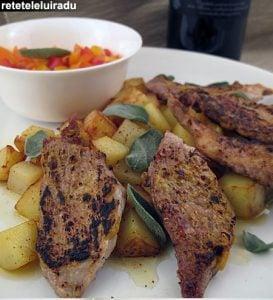 Muschiulet de porc cu crusta dulce picanta1 - Muschiulet de porc cu crusta dulce-picanta 20 - Retetele lui Radu