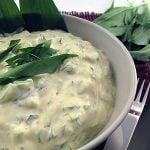 Salata de iaurt cu leurda, castravete si mustar