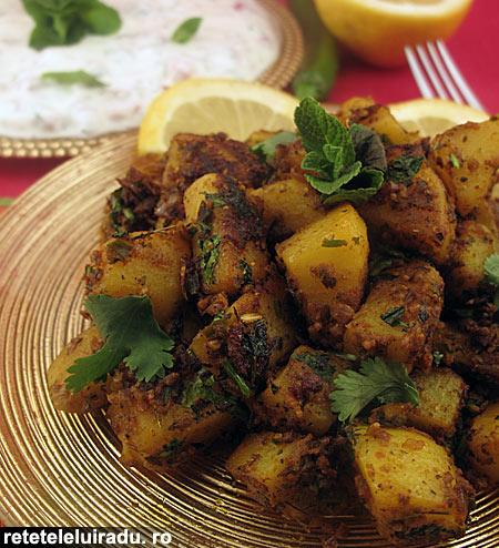 Jeera Aloo – Cartofi cu chimion