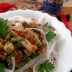Salata picanta cu taitei