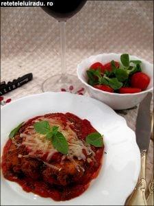 Pollo alla Parmigiana1 - Pollo alla Parmigiana 80 - Retetele lui Radu