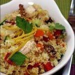 Salata de pui cu cuscus