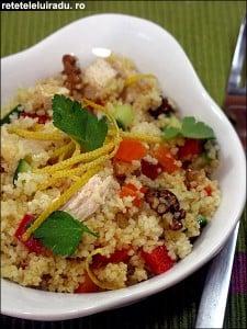 Salata de pui cu cuscus2 - Salata de pui cu cuscus 52 - Retetele lui Radu