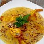 Supa-crema de dovleac cu usturoi