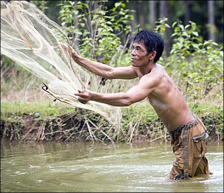 pescar cu plasa - Fotografii de pe papamond (35) 1 - Retetele lui Radu