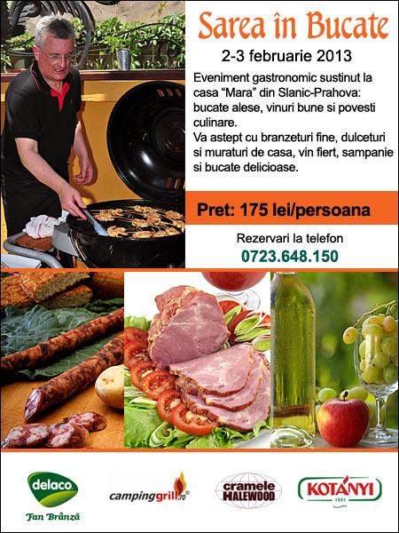 """SareaBucateFebr2013 - Detalii despre evenimentul gastronomic """"Sarea în bucate"""", februarie 2013 1 - Retetele lui Radu"""