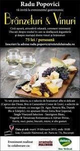 BranzaVin21 - Brânzeturi şi vinuri 21 - Retetele lui Radu