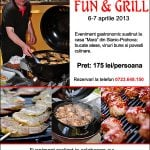 "Eveniment ""Fun & Grill"", aprilie 2013"