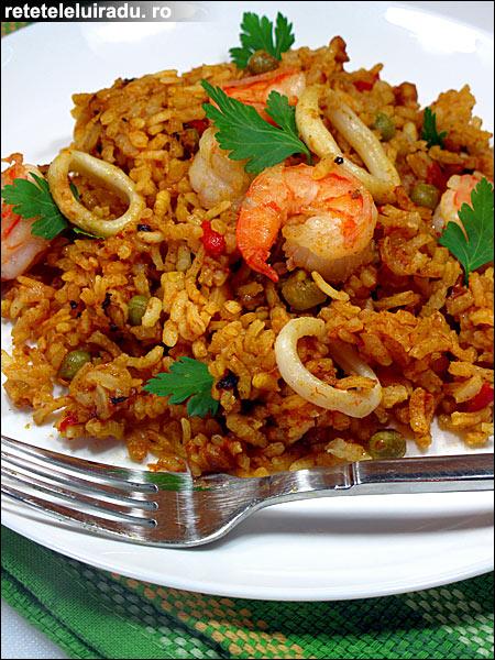 paella marisco - Paella marisco 1 - Retetele lui Radu
