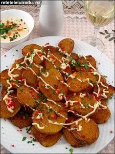 Patatas alioli1 - Patatas alioli 22 - Retetele lui Radu