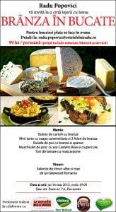 """branzaBucate11 - Joi, 16 mai, la mansarda: eveniment culinar """"Branza in bucate"""" 52 - Retetele lui Radu"""