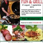 "Eveniment ""Fun & Grill"" – 31 august 2013"