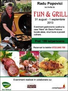 "funGrillAugust2013banner11 - Eveniment ""Fun & Grill"" - 31 august 2013 1 - Retetele lui Radu"