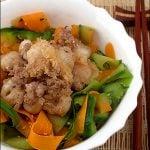 Pui de sepie cu piper de Sichuan