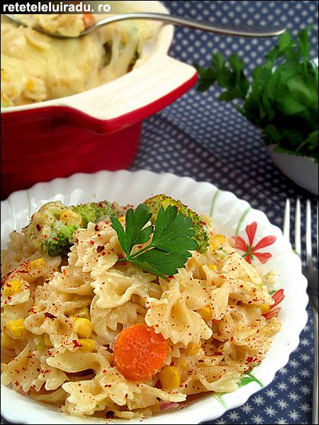 Graten de paste cu legume - Graten de paste cu legume 1 - Retetele lui Radu