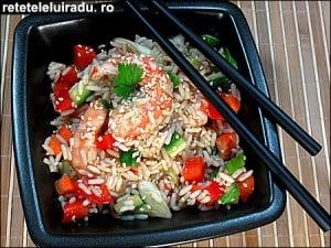 Salata de creveti cu orez si legume1 - Salata de creveti cu orez si legume 19 - Retetele lui Radu