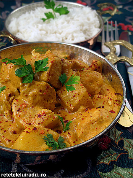 Tamatar murgh - Tamatar murgh - Curry de pui cu rosii 1 - Retetele lui Radu