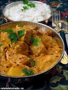 Tamatar murgh1 - Tamatar murgh - Curry de pui cu rosii 56 - Retetele lui Radu