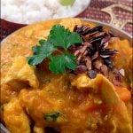 Curry de pui cu dovleac