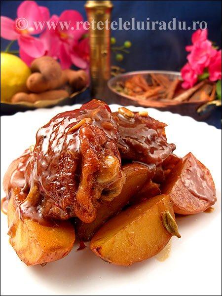 Pui cu cartofi si mirodenii - Pui cu cartofi si mirodenii 1 - Retetele lui Radu