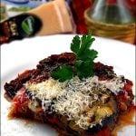 Vinete cu mozzarella si Grana Padano