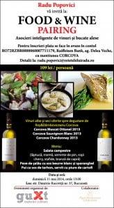 Corcova - Food & Wine Pairing 4 - Retetele lui Radu