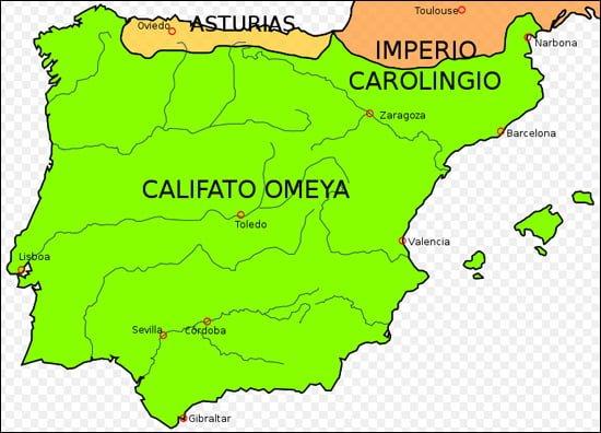 cucerirea maura in Spania
