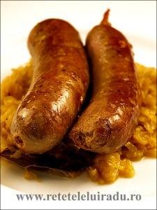Knackwurst cu varza - Knackwurst cu varza 9 - Retetele lui Radu