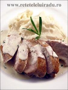 Piept de pui cu sos de tarhon si piure de cartofi - Piept de pui cu sos de tarhon si piure de cartofi 42 - Retetele lui Radu